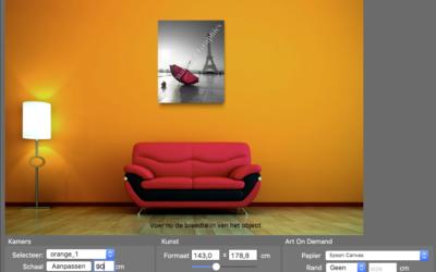 Größere Bilder verkaufen: Wall-Art-Modul